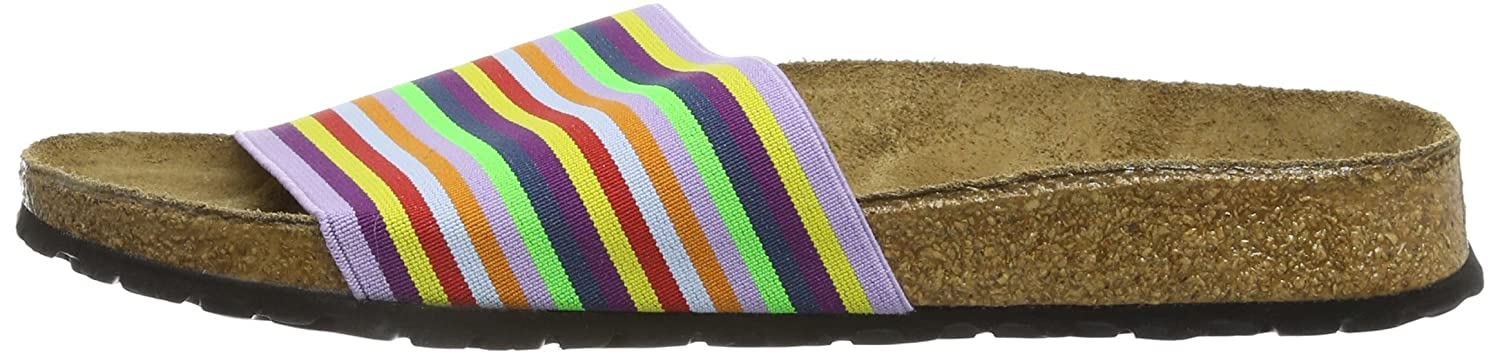 Birki'S Belau Stretch 230073 Damen Clogs & Pantoletten,Mehrfarbig (rainbow Stripes),Eu 40