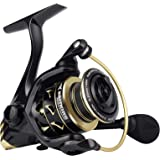 KastKing Valiant Eagle Gold Spinning Reel - 6.2:1 High-Speed Gear Ratio, Freshwater and Saltwater Fishing Reel, Faster Line R