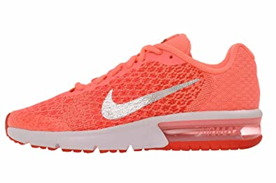 amazon com nike air max sequent 2 gs lava glow sneakers