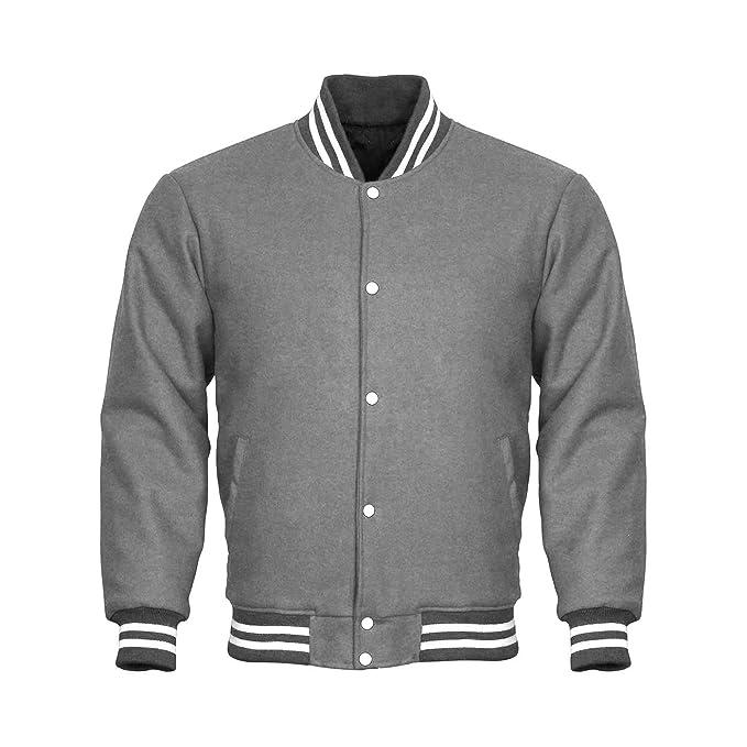 Amazon.com: Diseño personalizado chaquetas Varsity chamarra ...