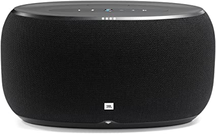 Amazon Com Jbl Link 500 Voice Activated Wireless Bluetooth Speaker Black Home Audio Theater