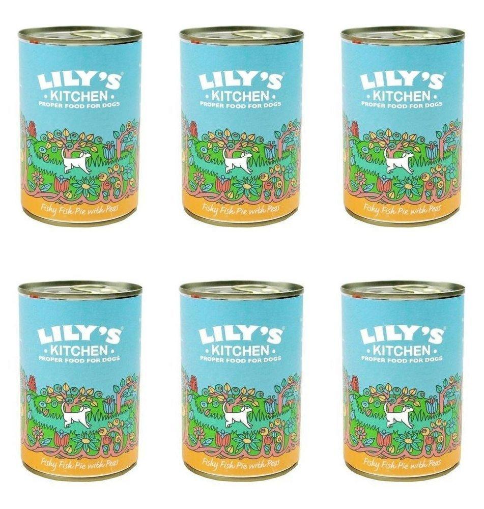 Amazon.com: (6 PACK) - Lilys/K Fishy Fish Pie With Peas (Wet Dog ...
