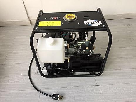 davy scu60s high pressure air compressor 4500psi 220v for rifle pcp air gun paintball tank filling