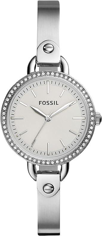 Fossil BQ3162 - Reloj de Cuarzo para Mujer, Acero Inoxidable ...