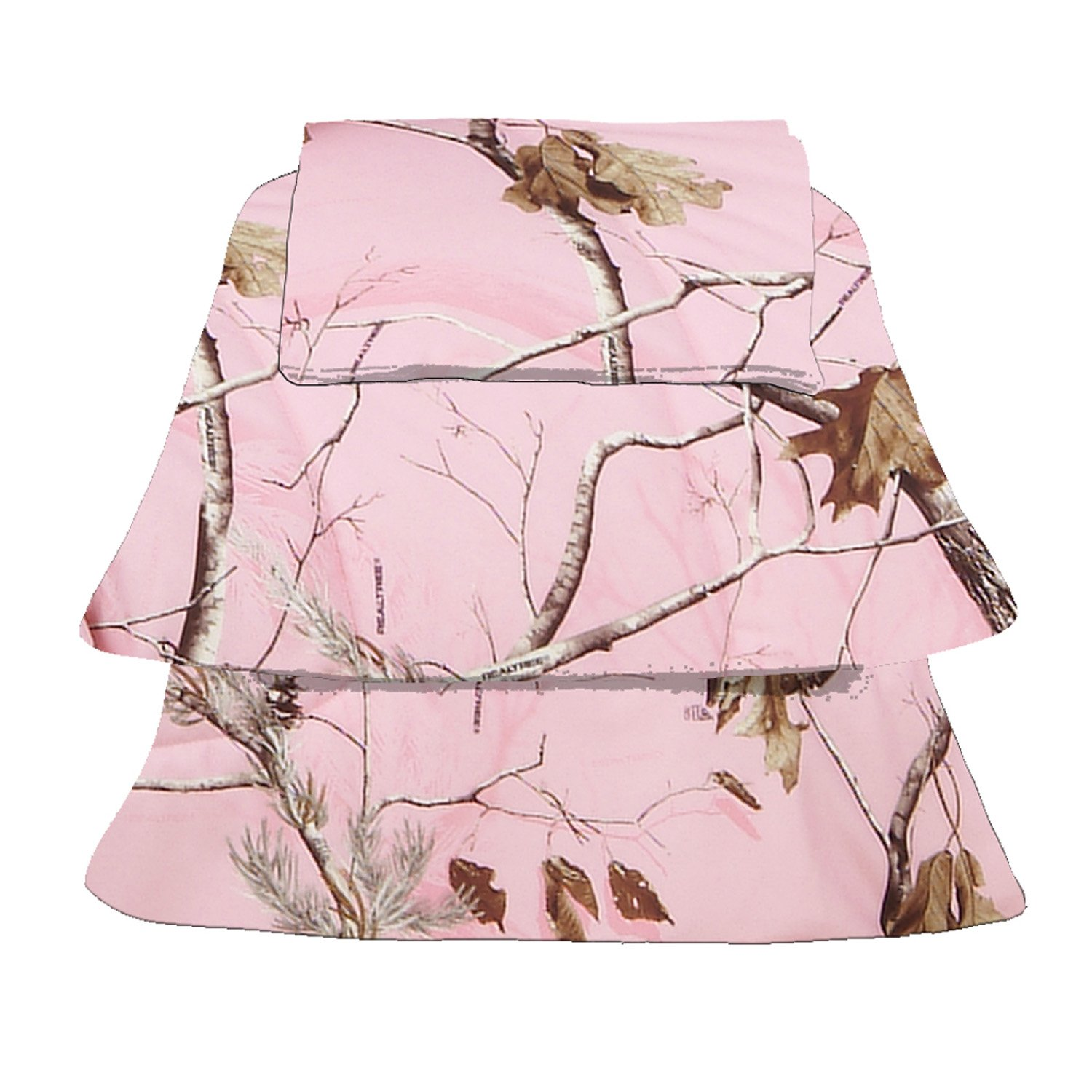 Realtree APC Pink Sheet Set, Twin
