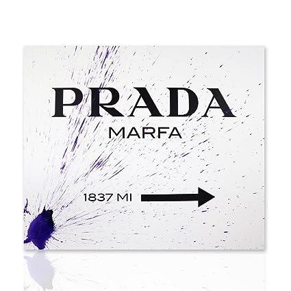 Marco de Prada Marfa fondo blanco boceto púrpura Gossip Girl pintura ...