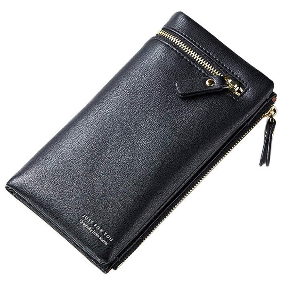 GENGXINLIN財布デザイン女性財布女性ロング財布カードホルダーマルチカードスロットコインポケットレディースクラッチpu a   B07MQHZKKX