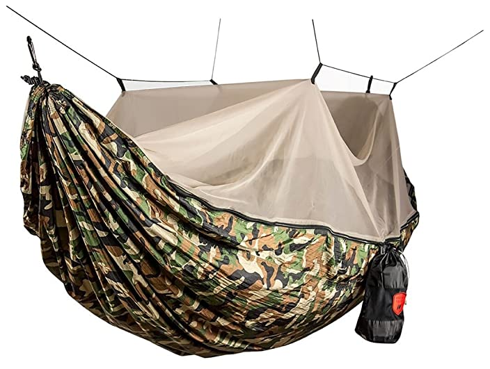 MULTI-FUNCTION HAMMOCK WITH BUG NET PROTECTION