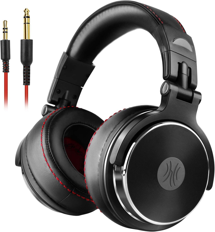 RIOT Project Bluetooth Wireless Over-Ear Headphones with Built-in-Mic, Deep Bass, Crisp Treble, Foldable, Lightweight, Workouts Travel Cellphone