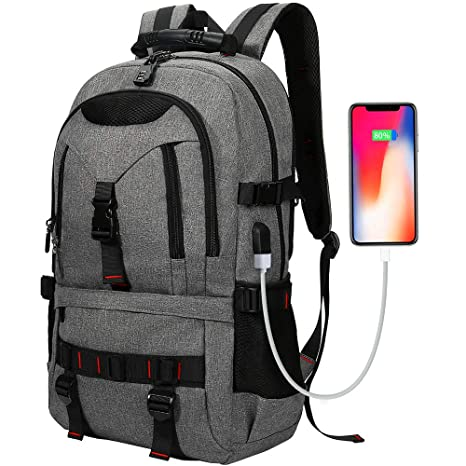645b8003ec6 Laptop Backpack, Tocode Travel Backpack Contains Multi-Function Pockets, Stylish Anti-Theft
