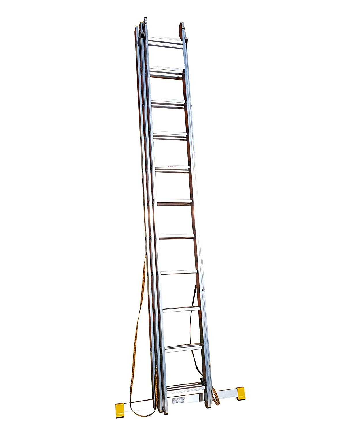 7.11m Trade Master 3 Section Extension Ladder with Integral Stabiliser BPS Access Solutions