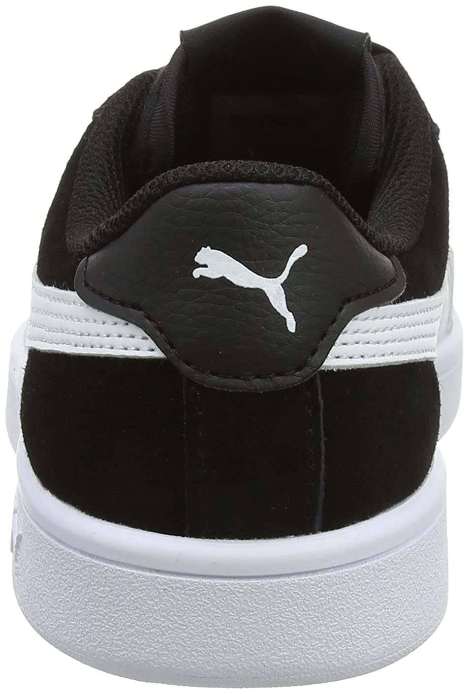 Amazon.com | PUMA Smash V2 Ribbon Jr 366003-01 Kids Shoes Black | Sneakers