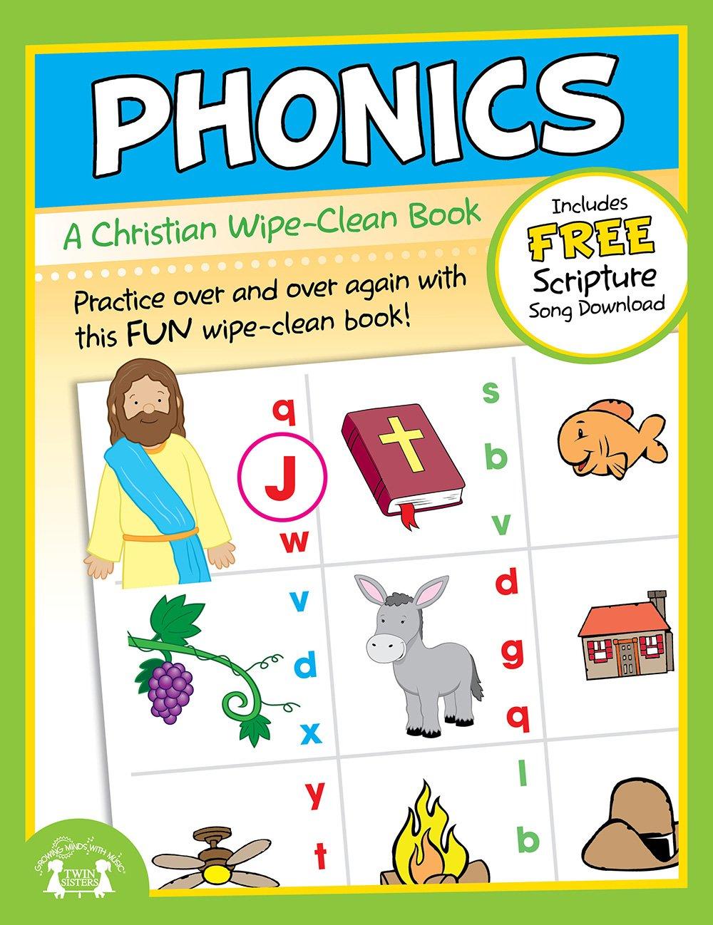 Read Online Phonics Christian Wipe-Clean Workbook (Let's Do It Again! Workbooks) PDF