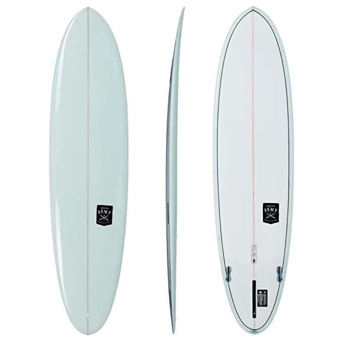 Amazon.com : Creative Army Huevo PU Longboard Surfboard : Sports & Outdoors