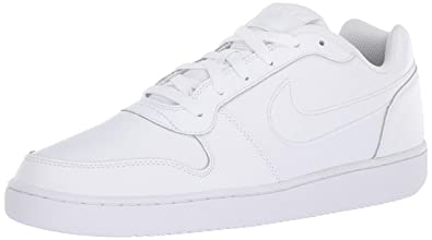 Nike Mens Ebernon Low Basketball Shoe White, 7 Regular US
