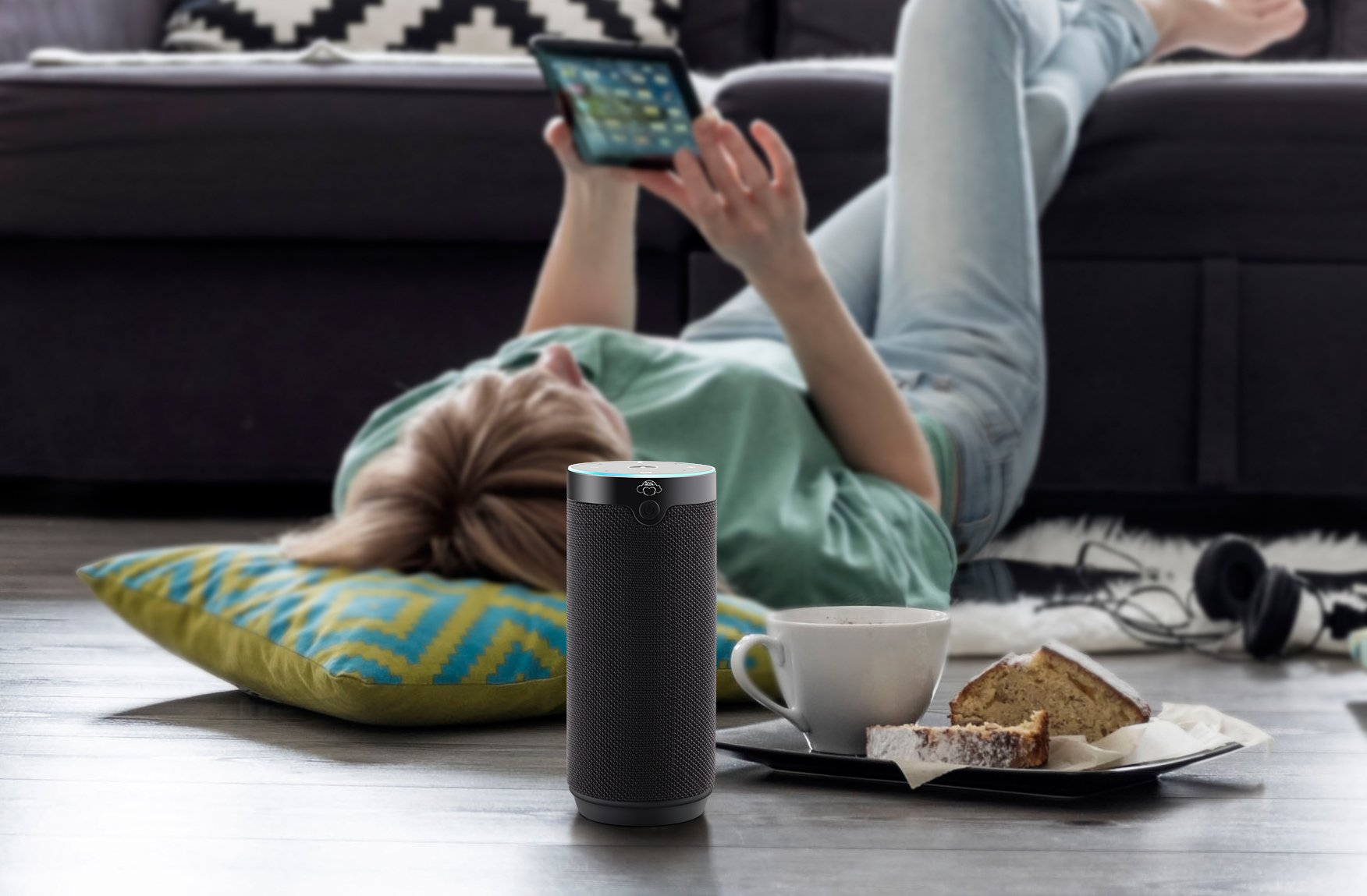 Portable Speakers Voice Control Compatible with Alexa