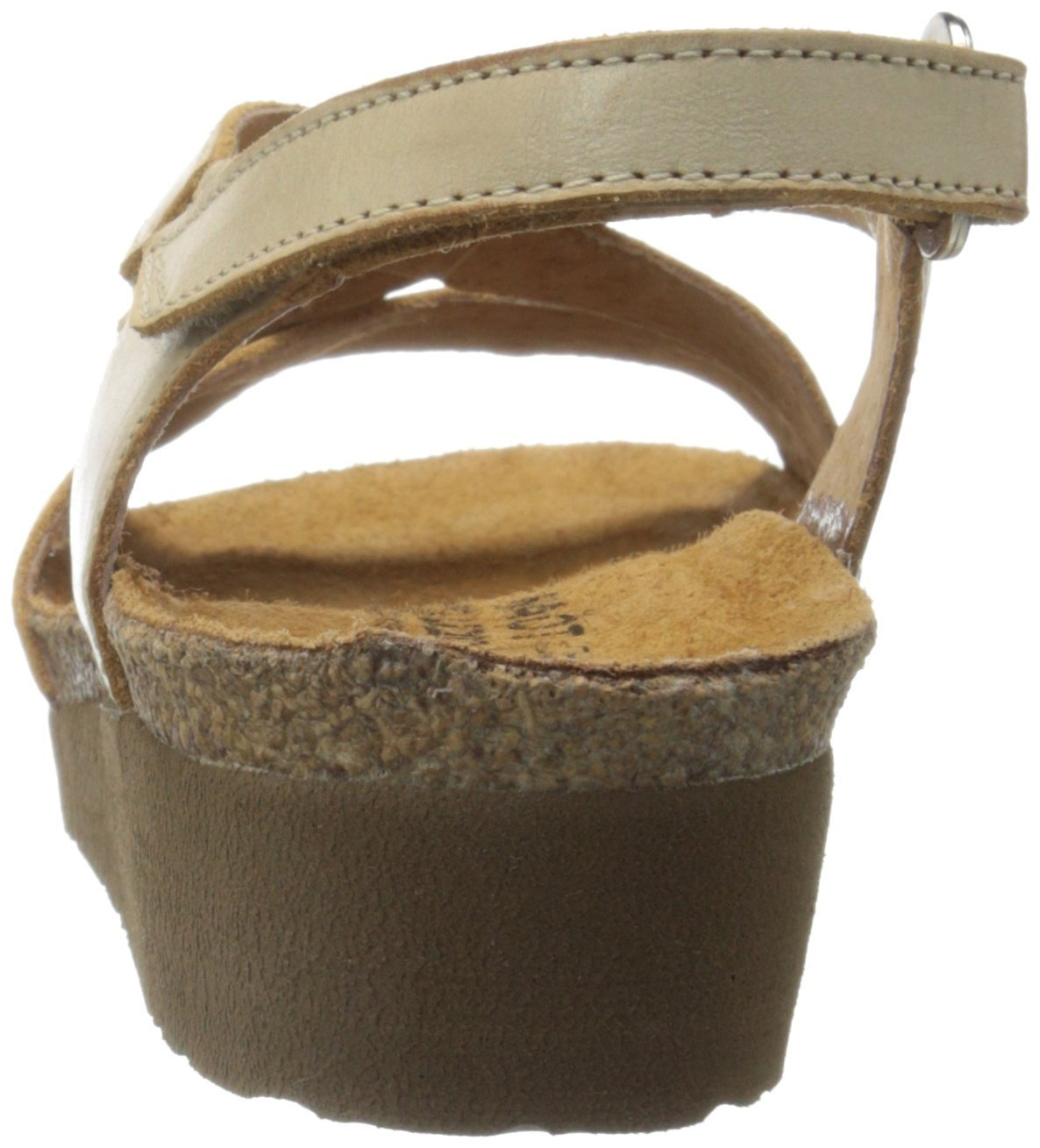 Naot Women's Bernice Wedge Sandal, Biscuit Leather, 35 EU/4.5-5 M US by NAOT (Image #2)