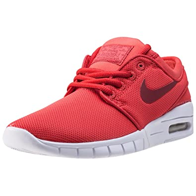 size 40 6eacb 0a254 Nike SB Stefan Janoski Max (GS), Sandales Compensées Mixte Enfant - Rouge -  Red,  Amazon.fr  Chaussures et Sacs