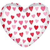 Party Accessory Amscan 918110.06 Pink Heart-Shaped Plastic Container