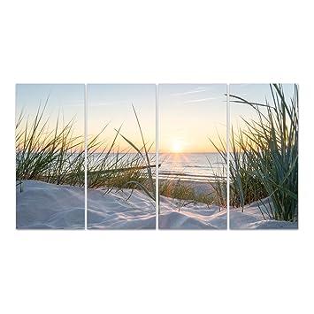 Dekoglas Glasbild Ostsee Acrylglas Bild Kuche Wandbild Flur
