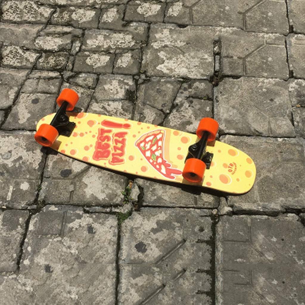 プロフェッショナルビッグフィッシュボード大人初心者四輪スケートボードスモールフィッシュプレートティーンエイジャーボーイズ&ガールズロードストリートショートボード Pizza (色 : Stitching blue) : B07KK9PT7C B07KK9PT7C Pizza Pizza, ジェムスター(宝石の専門店):f6a3a90b --- grupocmq.com