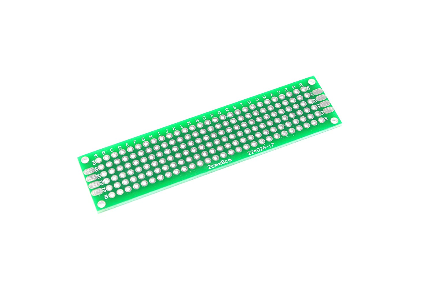 2 x 8cm 168 Point Breadboard Prototyping Vero Copper Arduino Unbranded/Generic GCAA100143