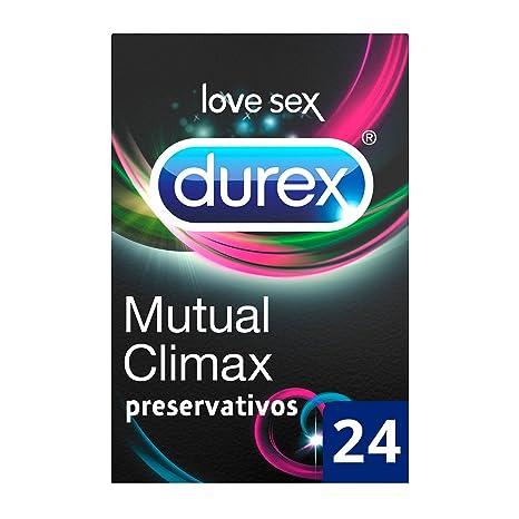 Durex Mutual Climax - 24 Preservativos