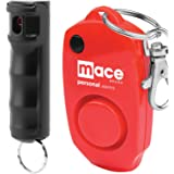 Mace Brand Ultimate Protection Package Featuring Mace Keyguard Pepper Spray and Mace 130dB Personal Alarm with Key Ring / Bag Clip (Ultimate Protection Package)