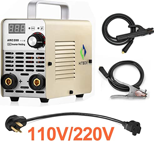 wiring up a 220v welding machine hitbox arc welder 110v 220v dual voltage 200a mma inverter welding  hitbox arc welder 110v 220v dual