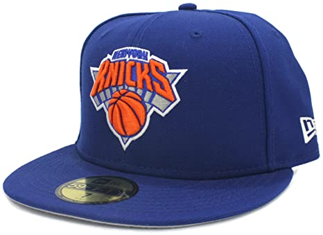 outlet store 66795 b6d08 Image Unavailable. Image not available for. Color  NBA New York Knicks  Hardwood Classics Basic 59FIFTY Fitted Cap ...