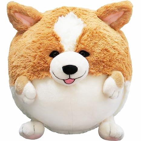 Almohada mascota, precioso cachorro, diseño de perro galés, redondo