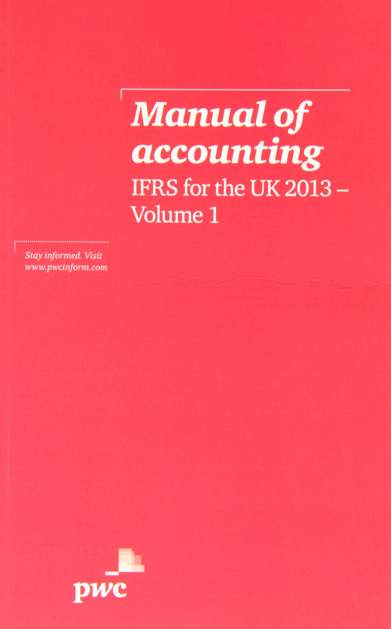 Manual of Accounting, IFRS for the UK 2013: 9781780431062: Amazon.com: Books