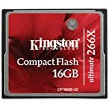 Kingston CF/16GB-U2 Scheda CompactFlash Ultimate 266x, 16 GB