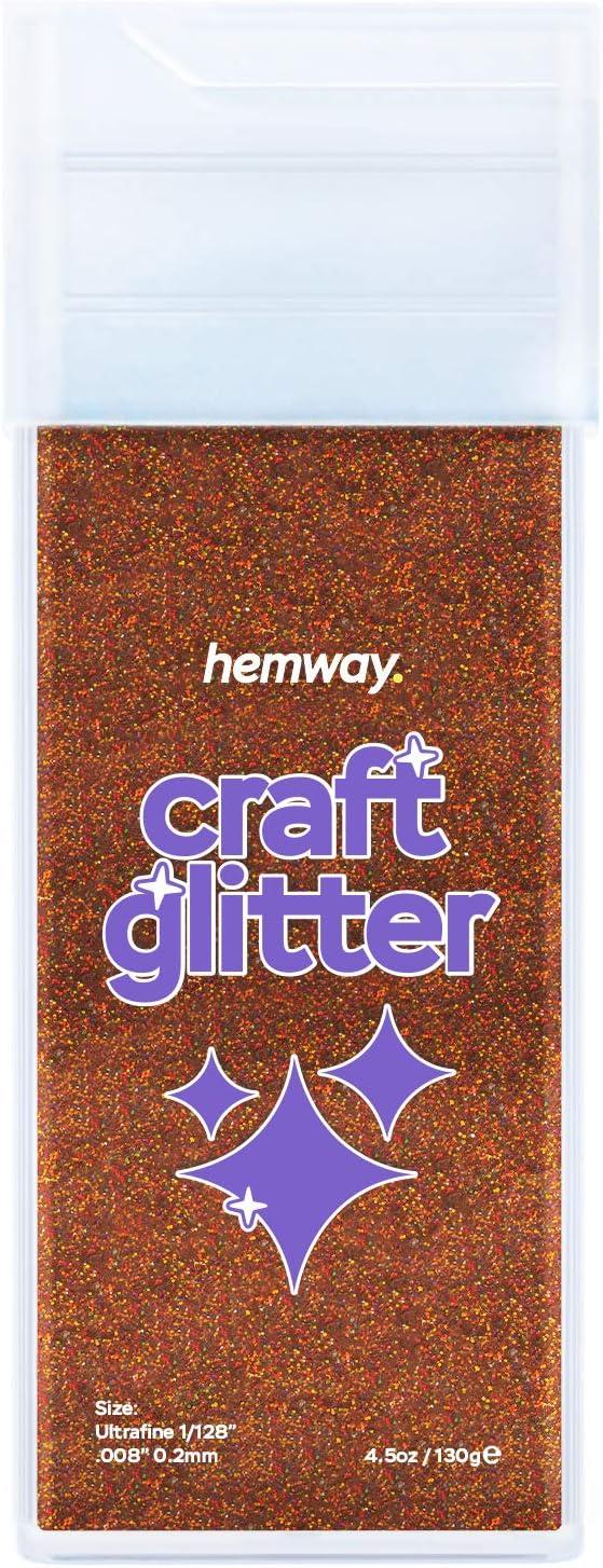 130g//4.6oz 1//128 0.008 0.2MM Fuchsia Hemway Ultra Fine//Extra Fine Craft Glitter Shaker for Arts Crafts Tumblers Schools Paper Glass Decorations DIY Projects
