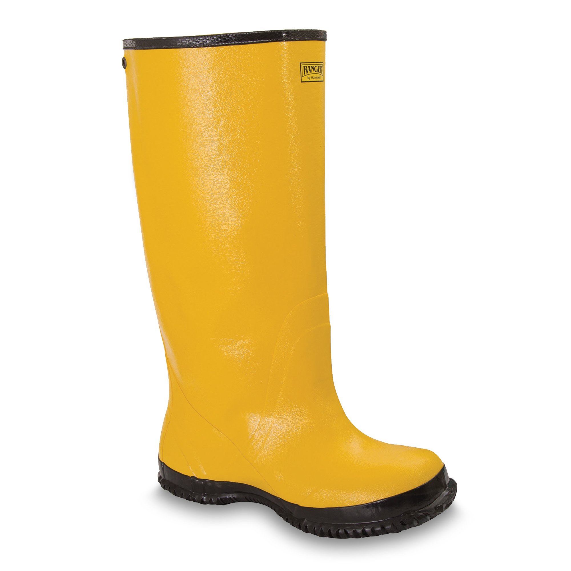 Ranger 18'' Oversized Men's Rubber Overboots, Yellow (A380) by Honeywell