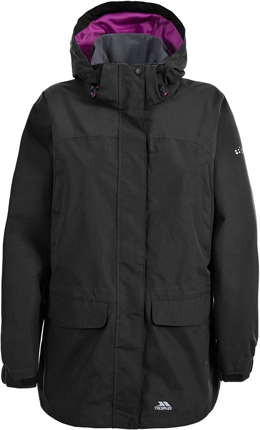 Trespass Mujeres Chaqueta Impermeable Skyrise