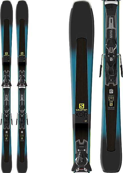 9e22f321 Amazon.com : Salomon XDR 79 CF Skis w/ Z11 Walk Bindings Mens ...
