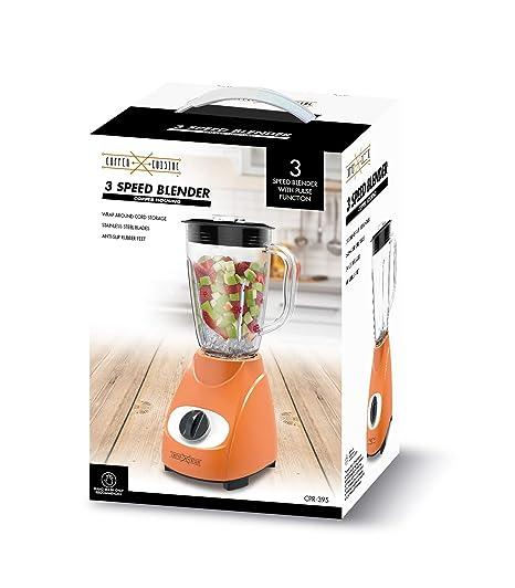 Amazon Com Copper Cuisine 3 Speed Blender Kitchen Dining
