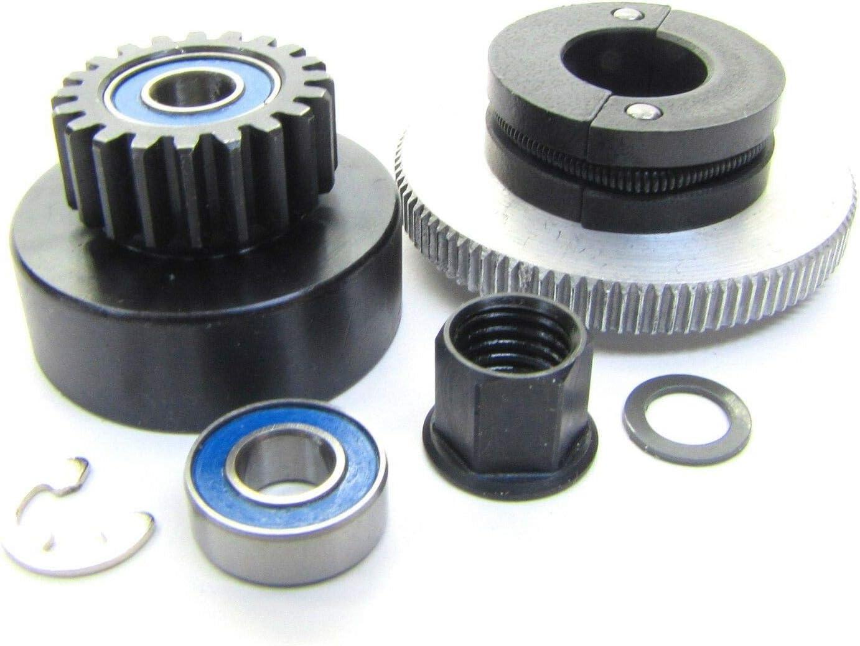 TRX 2.5 /& 2.5R Traxxas 5244 Flywheel Nut