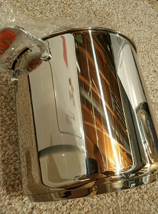 Amazon.com: David Burke 8QT / 12QT Stainless Steel Stock Pots ...