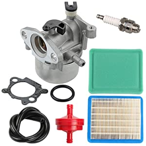 799866 790845 Carburetor + 491588S Air Filter Tune Up Kit for Briggs and Stratton 675 675ex 725ex Series Engine