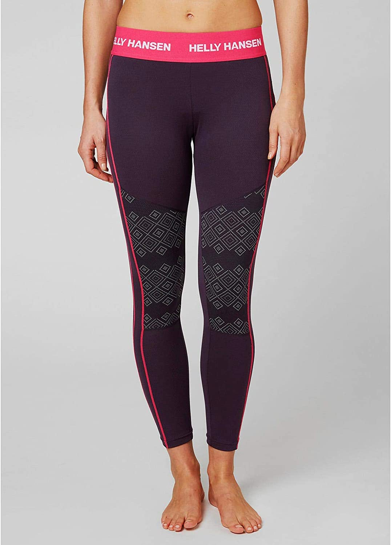 Helly Hansen Womens LIFA Active Graphic Base Layer Pants