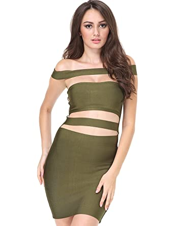 6d481962a33 Adyce Bandage-Dress-Green Luxury Wedding Guest