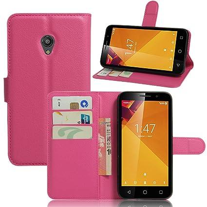 Vodafone Smart Turbo 7 VFD500 Case,Gift_Source [Slim Fit] [Kickstand Feature]