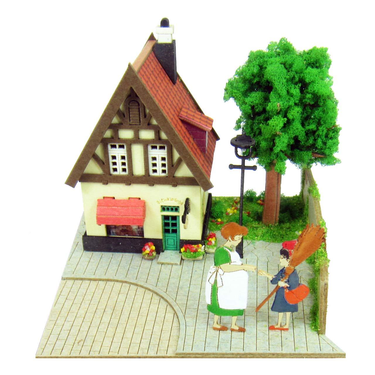 Kikis Delivery Service Ghibli Mini Studio Osono and Kiki Miniature Model Kit