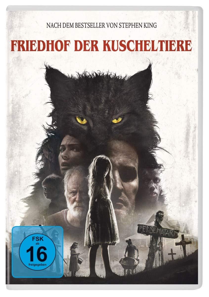 Cover: Friedhof der Kuscheltiere 1 DVD (circa 96 min)