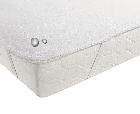 100% algodón – Colchones Cubrecolchón cama Einlage incontinencia resistente al agua 11 tamaños disponibles,