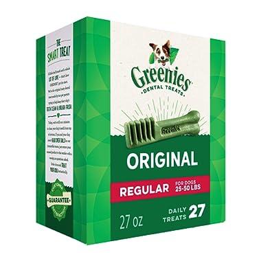 Greenies Original Regular Size Natural Dental Dog Treats