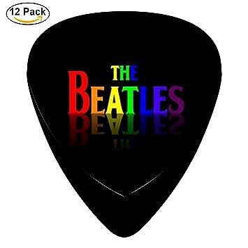 The Beatles guitarra eléctrica 12 púas de celuloide de graves Música Instrumento