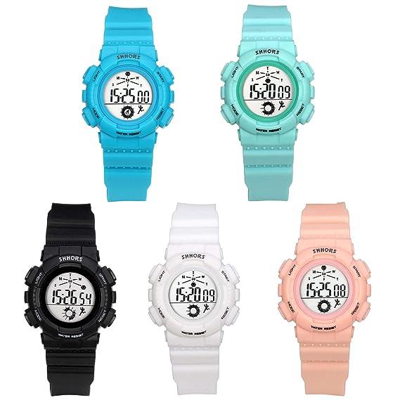 Lancardo Reloj Electrónico para Mujer Hombre Unisex Reloj ...